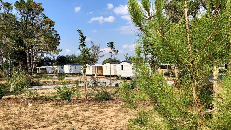 Achat mobil home dans camping  près de Grosbreuil
