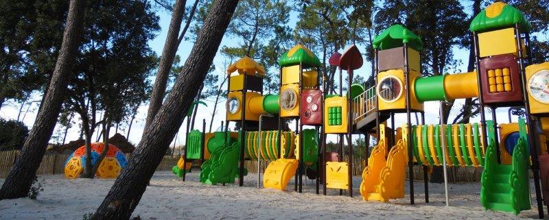 aire de jeux du parc en vendée