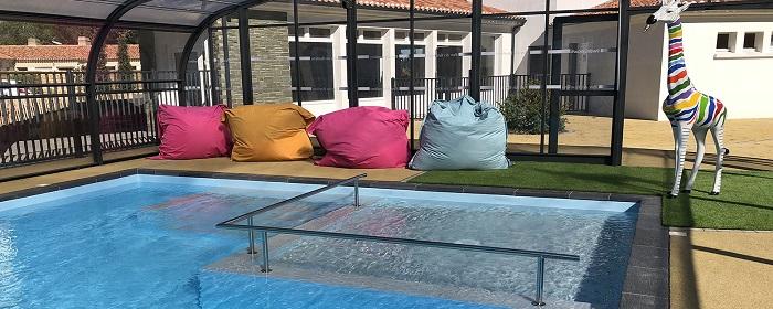 camping ouvert à l'année avec piscine