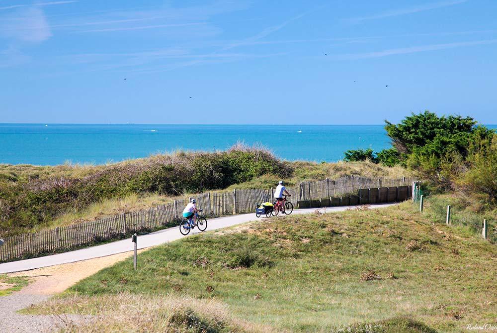 pistes cyclables bord de mer