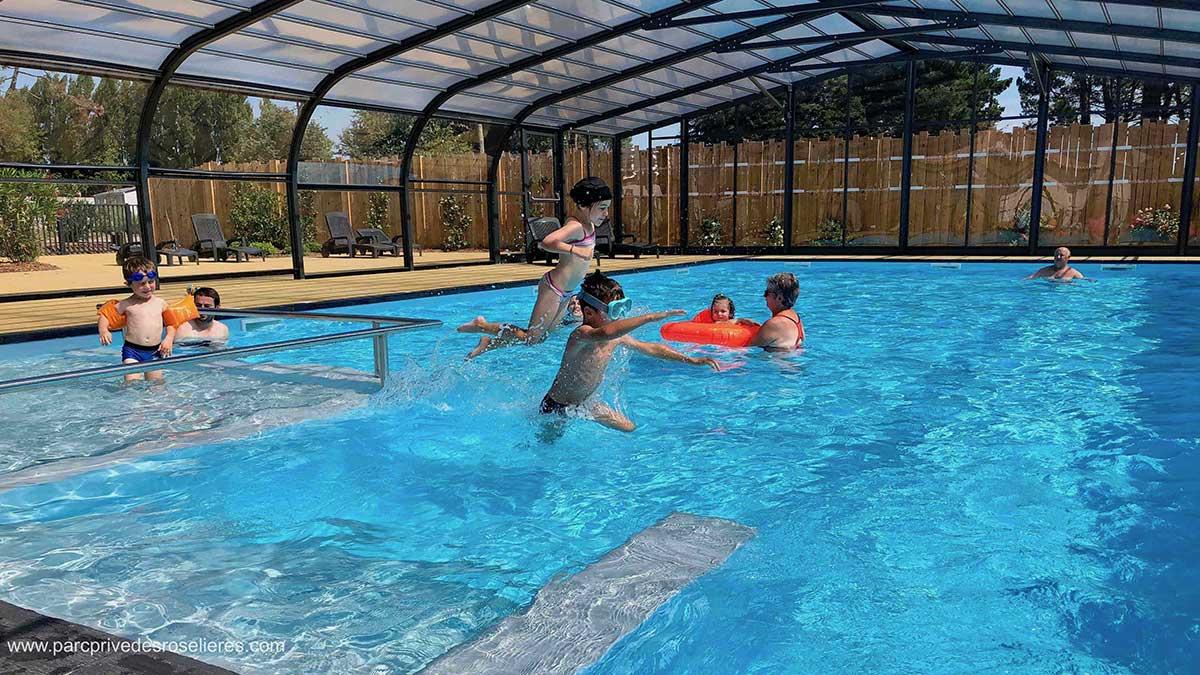camping ouvert toute l'année avec piscine couverte